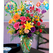 Birthday Flowers - Nicaragua